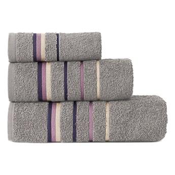 MARS Ręcznik z zawieszką, 30x50cm, kolor 292 szary MARS00/RB0/292/030050/1