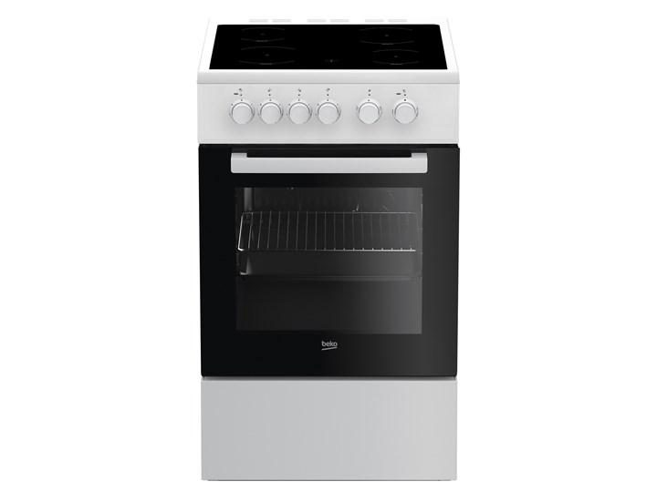 Kuchnia elektryczna Beko FSS 57000GW Szerokość 50 cm Rodzaj płyty grzewczej Ceramiczna Kategoria Kuchenki elektryczne