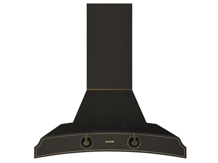 Okap Gorenje DK63MCLB Szerokość 60 cm Okap przyścienny Sterowanie Mechaniczne Poziom hałasu 65 dB