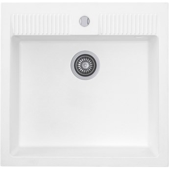 Zlewozmywak Kernau KGS N 60 1B Pure White
