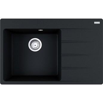 Zlewozmywak granitowy Franke CNG 611-78 TL Czarny Mat 114.0633.145