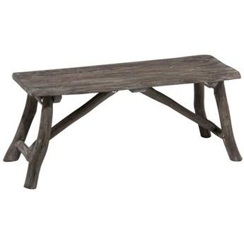 Ławka z drewna Ches