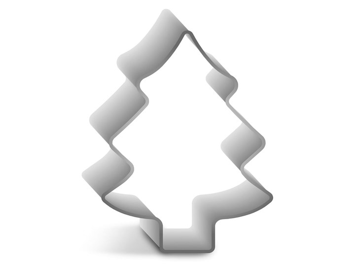 Forma do pieczenia Guardini Christmas Tree Kategoria Dekoracja wypieków Kolor Srebrny