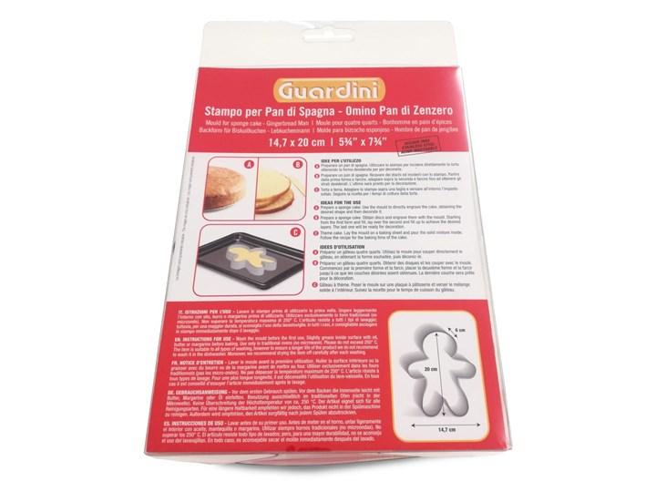 Forma do pieczenia Guardini Gingerbread Man Kategoria Dekoracja wypieków Kolor Srebrny