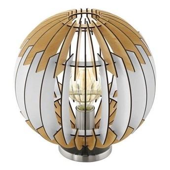 Eglo 79142 - Lampa stołowa OLMERO I 1xE27/60W/230V