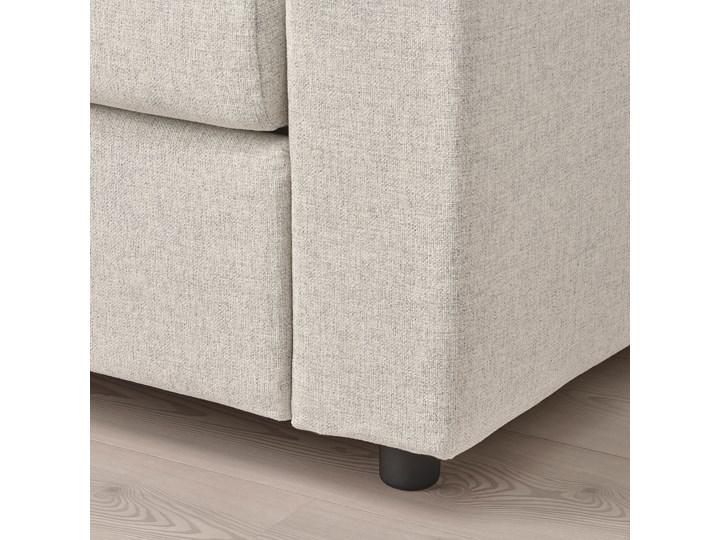 IKEA VIMLE Sofa 2-osobowa rozkładana, Gunnared beżowy, Wysokość łóżka: 53 cm Głębokość 98 cm Szerokość 190 cm Materiał obicia Tkanina Wielkość Dwuosobowa
