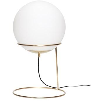 Lampa stołowa Fiona 30x53 cm mosiężna