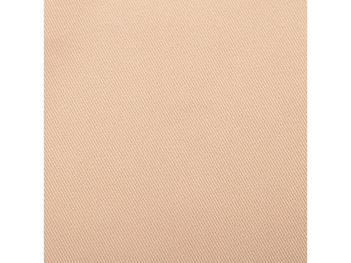 Zasłona BASIC na taśmie marszczącej 140x260cm waniliowy beż 1 szt., 140 cm x 260 cm 140x260 cm Poliester Mocowanie Szelki Mocowanie Taśma