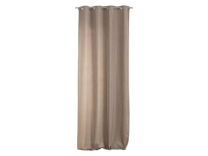 Zasłona BASIC na kółkach 140x280cm jasny taupe 1 szt., 140 cm x 280 cm Kategoria Zasłony Poliester 140x280 cm Kolor Szary