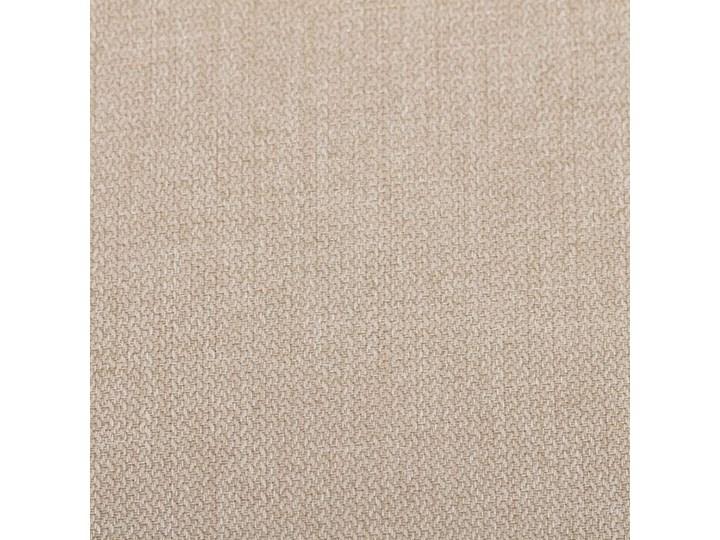 Zasłona BASIC na kółkach 140x280cm piaskowy beż 1 szt., 140 cm x 280 cm Poliester Kolor Beżowy 140x280 cm Kategoria Zasłony