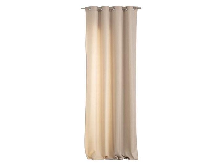Zasłona BASIC na kółkach 140x280cm piaskowy beż 1 szt., 140 cm x 280 cm Poliester 140x280 cm Kolor Beżowy Kategoria Zasłony