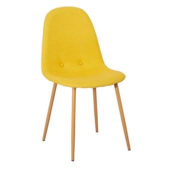 Zestaw 2 żółtych krzeseł loomi.design Lissy