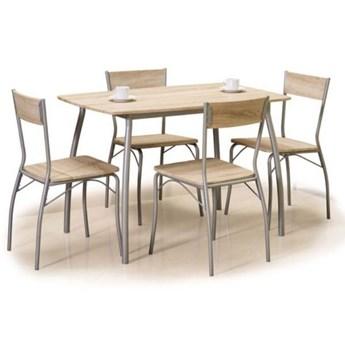 Zestaw MODUS stół + 4 krzesła dąb sonoma SIGNAL