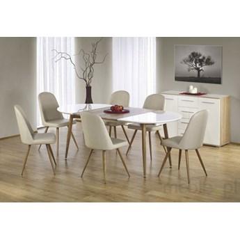 Zestaw mebli stół EDWARD i 4 krzesła K214 HALMAR