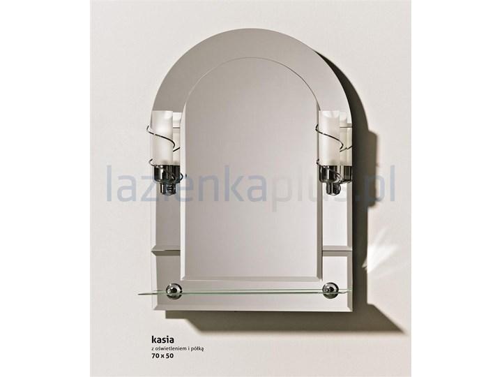 Lustro Z Oświetleniem I Półką 70 X 50 Cm Rejdex Kasia