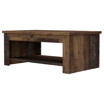 SELSEY Ława kawowa DURT 65-94x110 cm drewno postarzane
