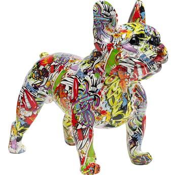 Figurka dekoracyjna Comic Dog 50x40 cm kolorowa