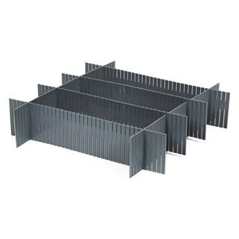 Zestaw 6 organizerów do szuflady Compactor