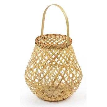 Lampion bambusowy Compactor Bamboo Lantern, ⌀ 25 cm