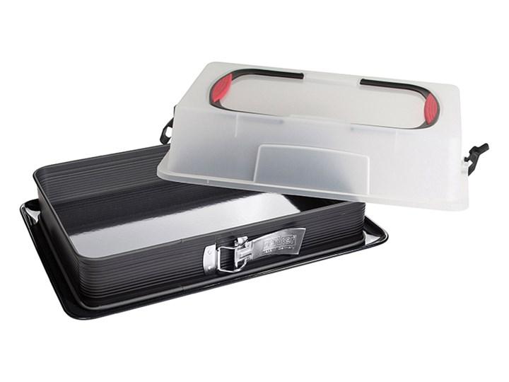 Forma prostokątna z obrzeżem i pokrywą Deluxe Do ciasta Metal Stal Kategoria Formy i foremki