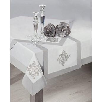 Obrus na stół stalowy 150X220