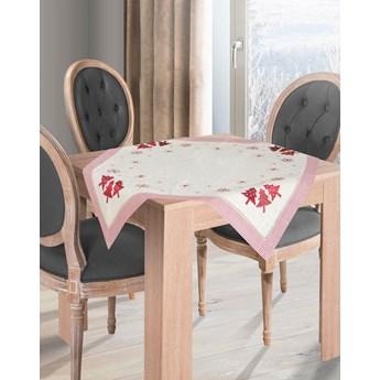 Obrus na stół bożonarodzeniowy 85X85CM