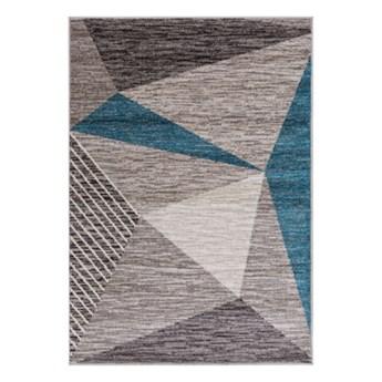 Salony Agata  Dywan GENUA TRIANGLE BLUE 160x230 cm      160x230