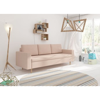 Skandynawska Sofa BEVER funkcja spania nogi