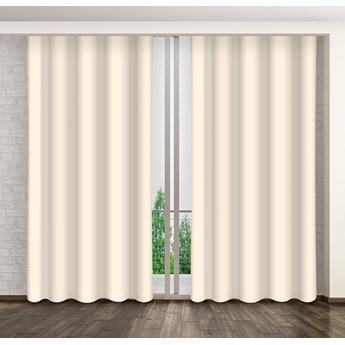 Zasłona okienna dekoracyjna CREAMY