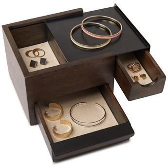 Pojemnik na biżuterię Stowit Mini 17x15 cm czarny