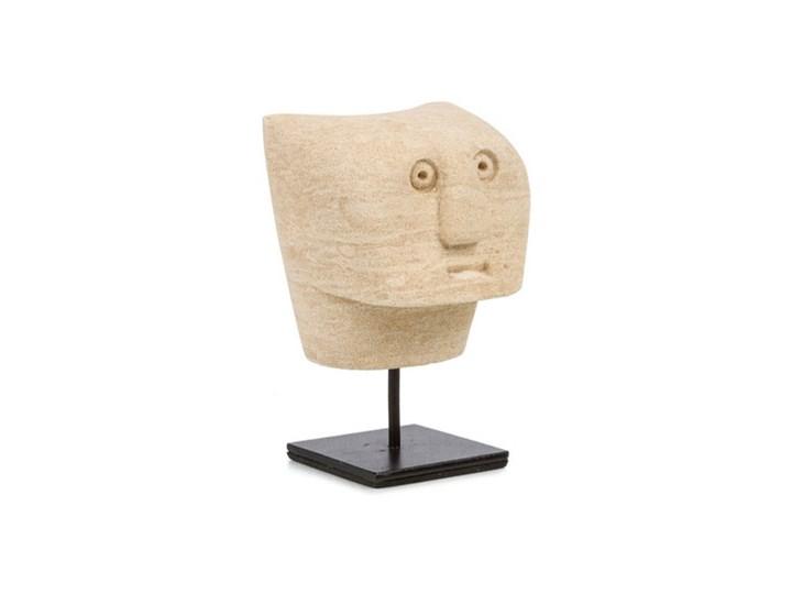 Dekoracja stojąca figurka Sumba-23 z piaskowca BAZAR BIZAR Kamień Metal Ludzie Kategoria Figury i rzeźby