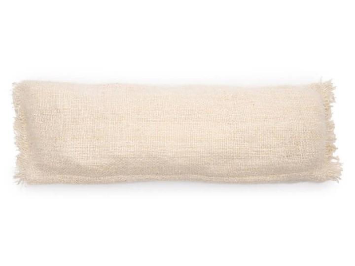 Duża kremowa poduszka dekoracyjna S'il 35x100 z bawełny BAZAR BIZAR Bawełna Poszewka dekoracyjna 35x100 cm Prostokątne 20x20 cm Kategoria Poduszki i poszewki dekoracyjne Kolor Szary