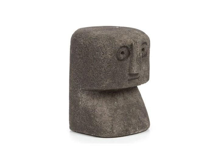 Dekoracja stojąca figurka Sumba-14 z piaskowca BAZAR BIZAR Ludzie Kategoria Figury i rzeźby Kamień Kolor Szary