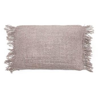 Szara poduszka dekoracyjna 30x50 Oh My Gee z bawełny BAZAR BIZAR
