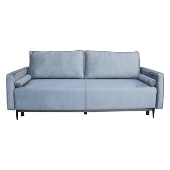 Sofa Arosa z funkcją spania szara