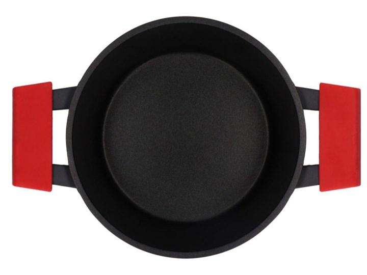 Garnki Zwieger Obsidian zestaw garnków 8 elementów z powłoką Greblon C3+ Kategoria Zestawy garnków i patelni Aluminium Kolor Czarny