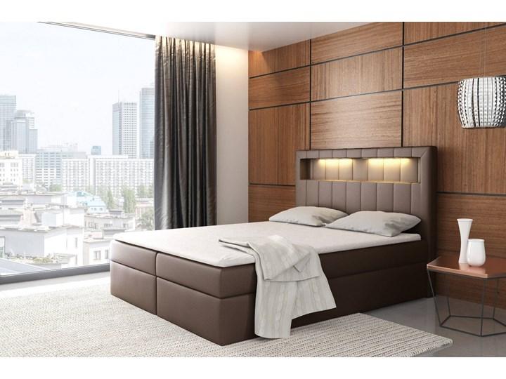 Łóżko kontynentalne 160x200 ASPEN / z pojemnikiem Kategoria Łóżka do sypialni Tkanina Kolor Szary