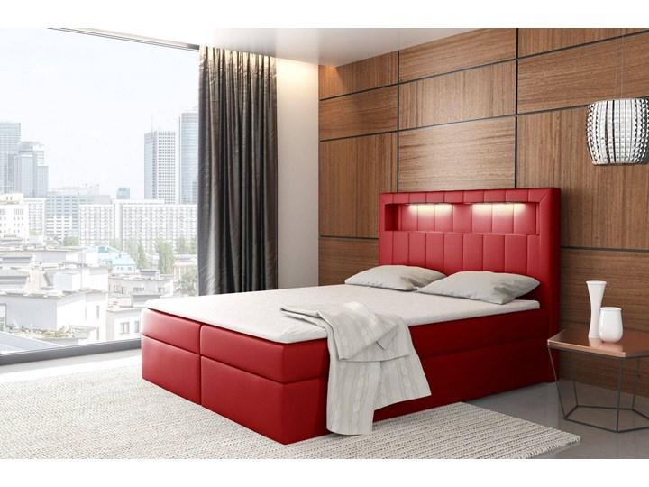 Łóżko kontynentalne 180x200 ASPEN / z pojemnikiem Tkanina Kategoria Łóżka do sypialni