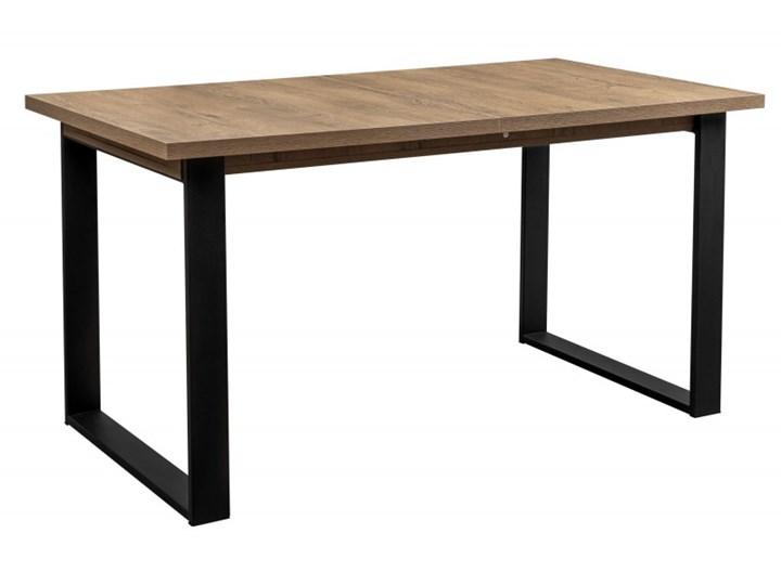 Duży Stół LOFT Rozkładany Metalowe Nogi 230/150x80 Tworzywo sztuczne Długość 150 cm  Długość 80 cm  Płyta laminowana Szerokość 80 cm Kategoria Stoły kuchenne Płyta MDF Stal Drewno Rozkładanie Rozkładane