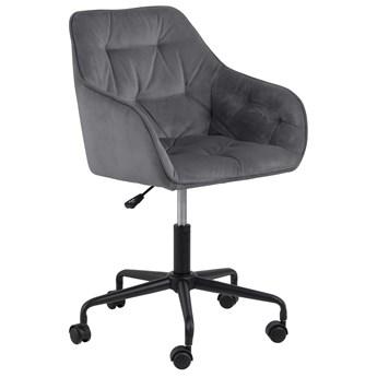 Krzesło biurowe Brooke 59x89 cm ciemnoszare