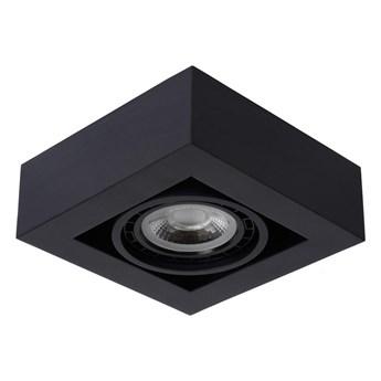Lucide 09120/12/30 - LED Ściemniane oświetlenie punktowe ZEFIX 1xGU10/12W/230V czarne