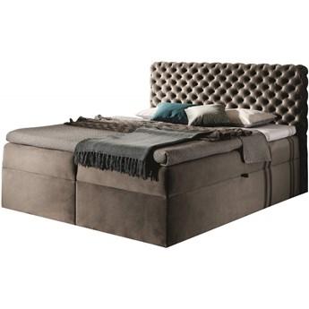Łóżko kontynentalne 120x200 CHESTERFIELD / z pojemnikiem