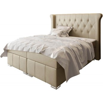 Łóżko kontynentalne 160x200 MASSIMO / z pojemnikiem