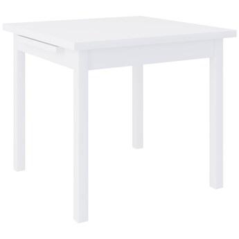 Stół MAX 7 80/80cm laminat biały WYPRZEDAŻ MAGAZYNOWA