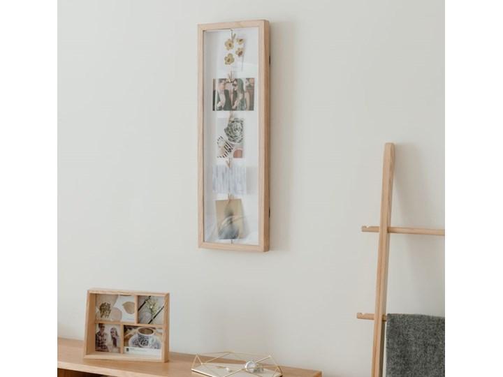 Ramka Clothesline Flip 24x72 cm drewniana Drewno Multiramka Pomieszczenie Salon Kategoria Ramy i ramki na zdjęcia