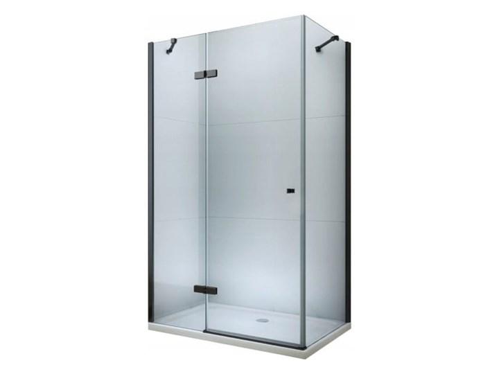 VELDMAN CZARNE PROFILE KABINA NEVADA ROZMIAR DO WYBORU Wysokość 195 cm Kwadratowa Kolor Czarny Kategoria Kabiny prysznicowe