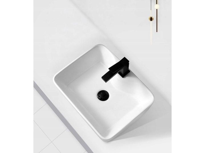 VELDMAN UMYWALKA CERAMICZNA GRACJA Ceramika Szerokość 49 cm Nablatowe Meblowe Kategoria Umywalki