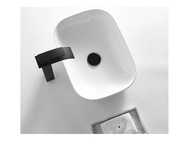 VELDMAN UMYWALKA CERAMICZNA NABLATOWA TOKYO SLIM BIAŁA ROZMIAR DO WYBORU Meblowe Nablatowe Prostokątne Ceramika Kolor Biały Szerokość 46 cm Kategoria Umywalki