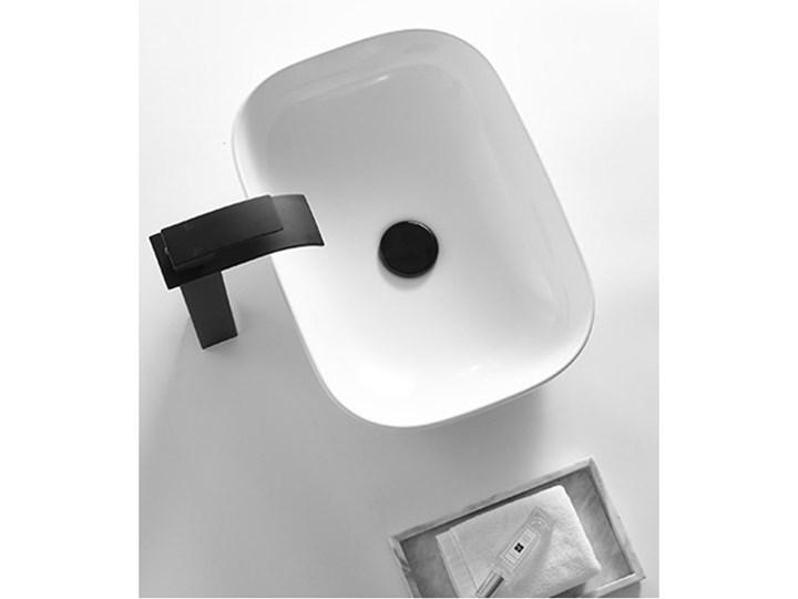 VELDMAN UMYWALKA CERAMICZNA NABLATOWA TOKYO SLIM BIAŁA ROZMIAR DO WYBORU Prostokątne Meblowe Szerokość 46 cm Kolor Biały Ceramika Nablatowe Kategoria Umywalki