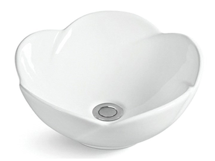 VELDMAN UMYWALKA CERAMICZNA ROSE Ceramika Nablatowe Asymetryczne Meblowe Szerokość 40 cm Kategoria Umywalki